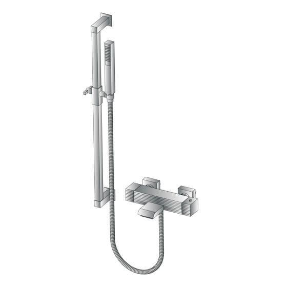 Robinet de douche avec douchette CASANOVA 3267TM302 by RUBINETTERIE STELLA