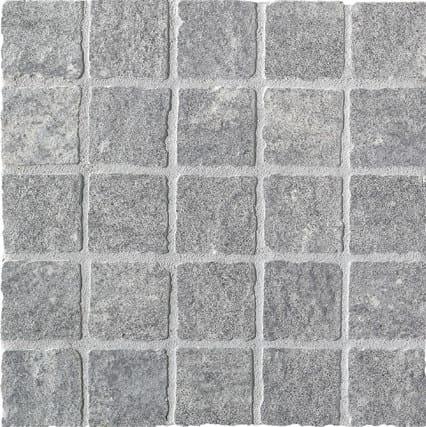 Mosaico PIETRA DI LUSERNA ST Strutturato 30X30 cm.