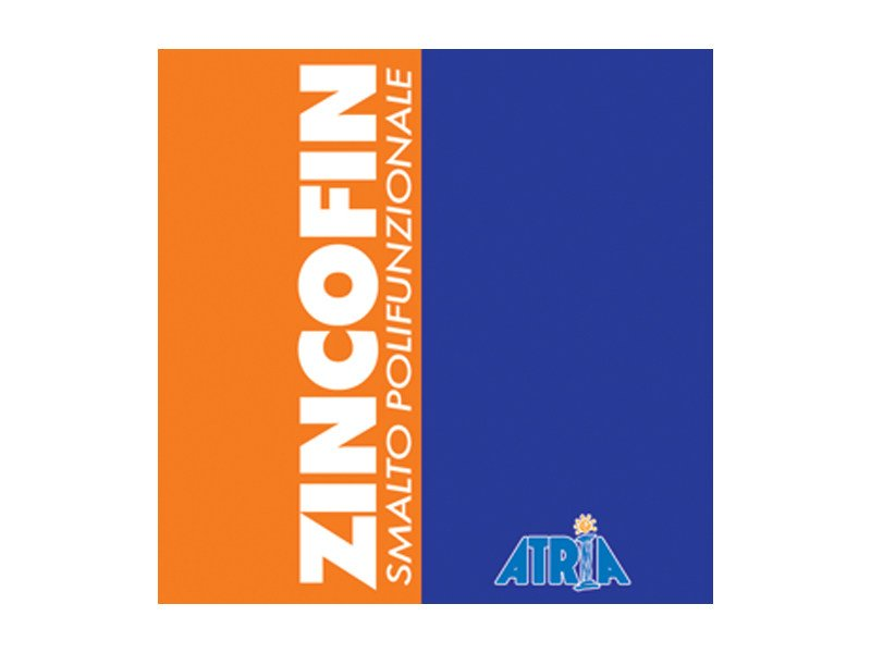 Enamel ZINCOFIN by COLORIFICIO ATRIA