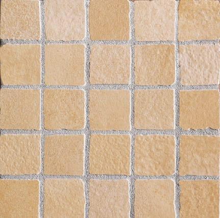 Mosaico PIETRA GIALLA ST Strutturato 30X30 cm.