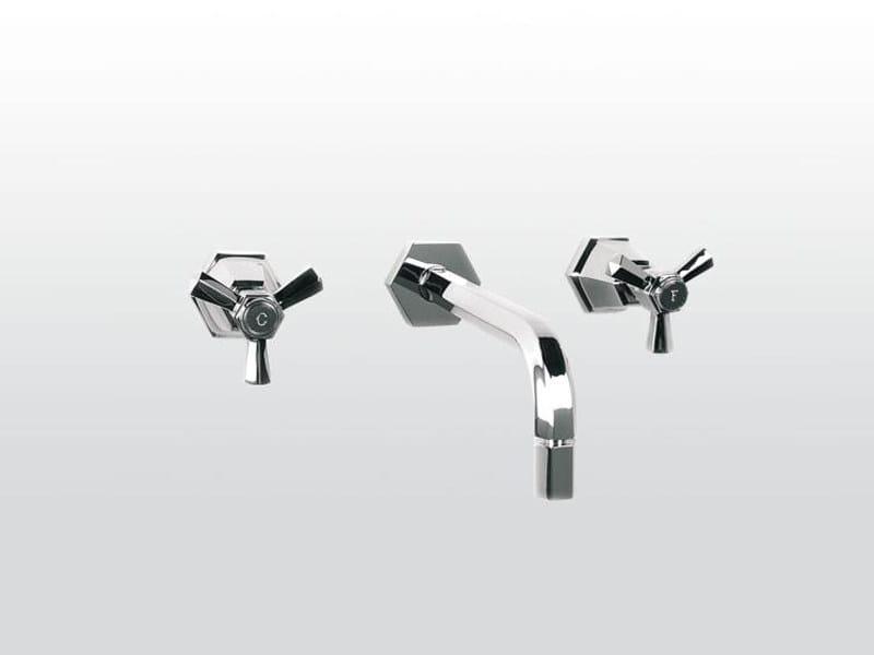3 hole washbasin tap ECCELSA 3863 by RUBINETTERIE STELLA