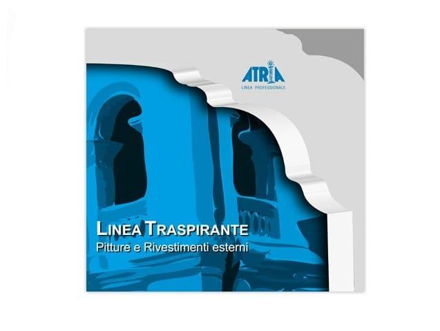 Plastic paint TRASPIREX by COLORIFICIO ATRIA