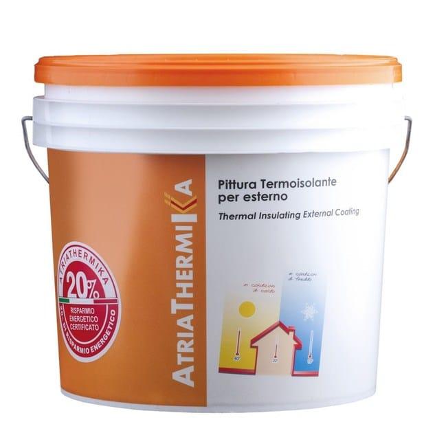 Water repellent water-based paint ATRIATHERMIKA Pittura per esterni by COLORIFICIO ATRIA