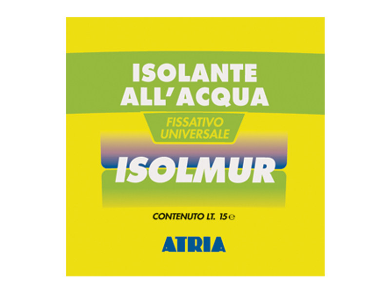 Base coat and impregnating compound for paint and varnish ISOLMUR by COLORIFICIO ATRIA