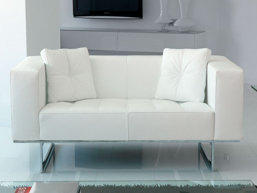 Leather sofa DIPLOMAT | Leather sofa by Italy Dream Design