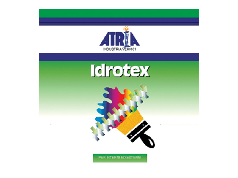 Breathable water-based paint IDROTEX by COLORIFICIO ATRIA