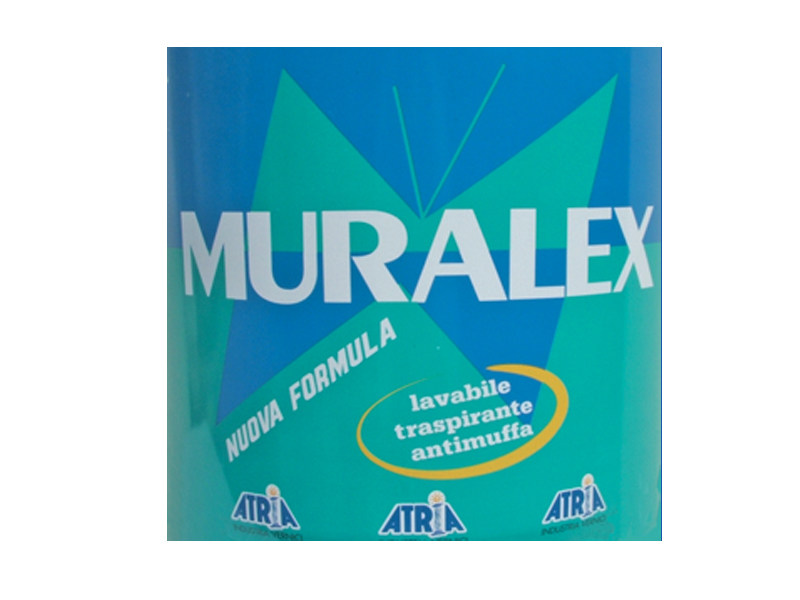 Washable water-based paint MURALEX by COLORIFICIO ATRIA
