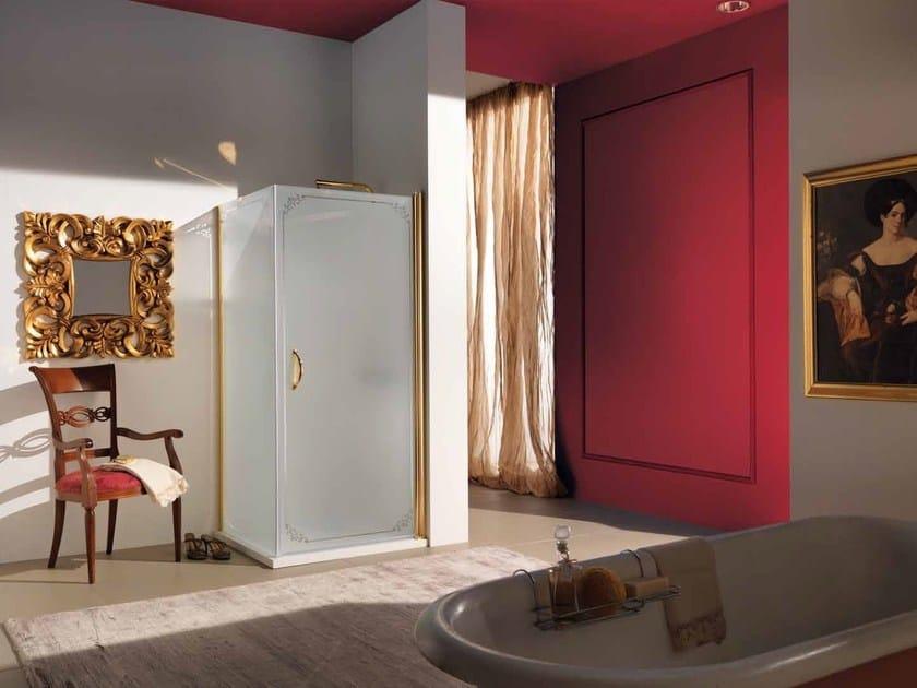 Corner glass shower cabin DOLCE VITA by Samo