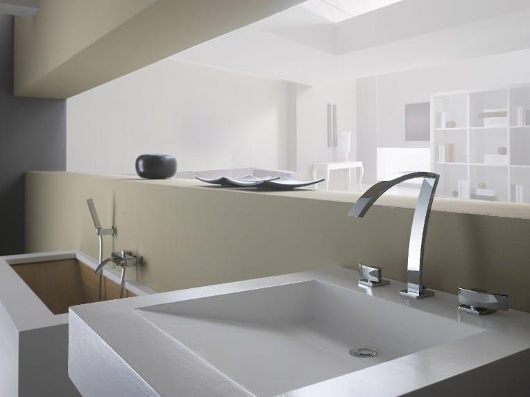 3 hole washbasin tap WABI | 3 hole washbasin tap by Gattoni Rubinetteria
