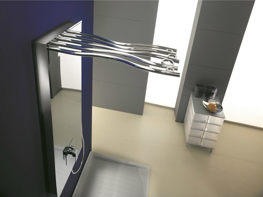 Shower panel with overhead shower RAMI | Shower panel by Gattoni Rubinetteria