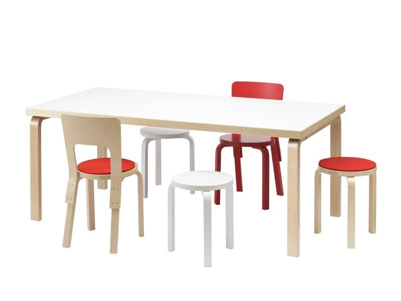 66 | Sedia in betulla Chair 66 designed by Alvar Aalto