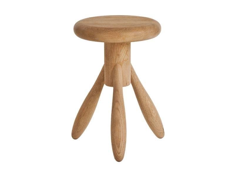 Solid wood Kids stool BABY ROCKET by Artek
