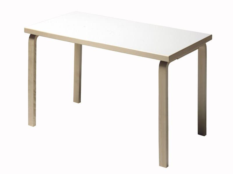 Rectangular wooden table 80   Rectangular table by Artek
