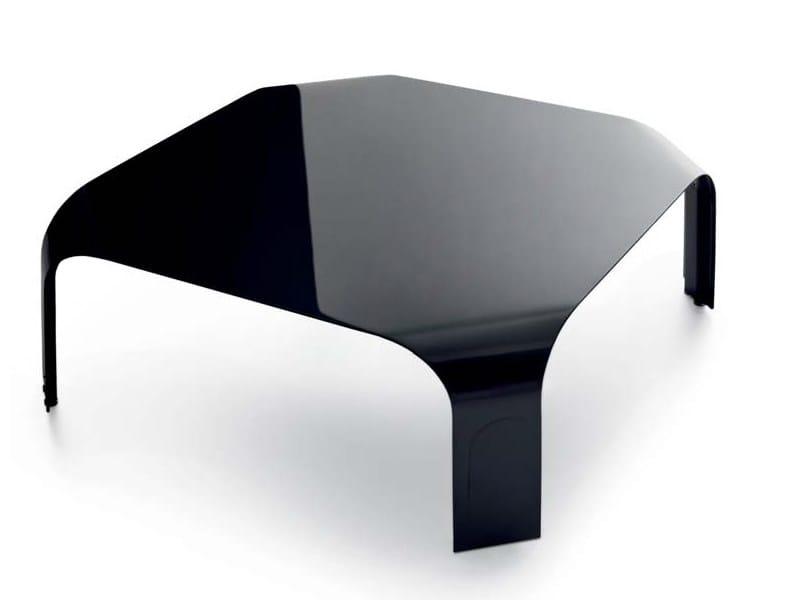Aluminium coffee table MiniBRIDGE by Borella Design