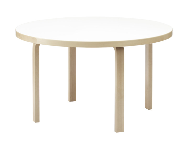 Tavolo rotondo in legno 91   Tavolo rotondo - Artek