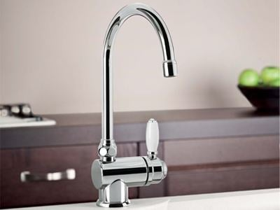 Chrome-plated kitchen mixer tap ROMA   3230 by RUBINETTERIE STELLA