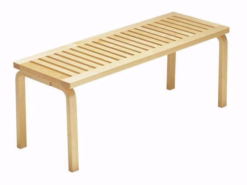 153 | Panca in legno By Artek design Alvar Aalto