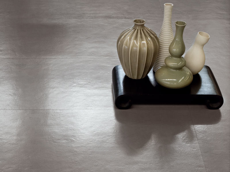 Porcelain stoneware flooring with resin effect CONCEPT by CERAMICA SANT'AGOSTINO