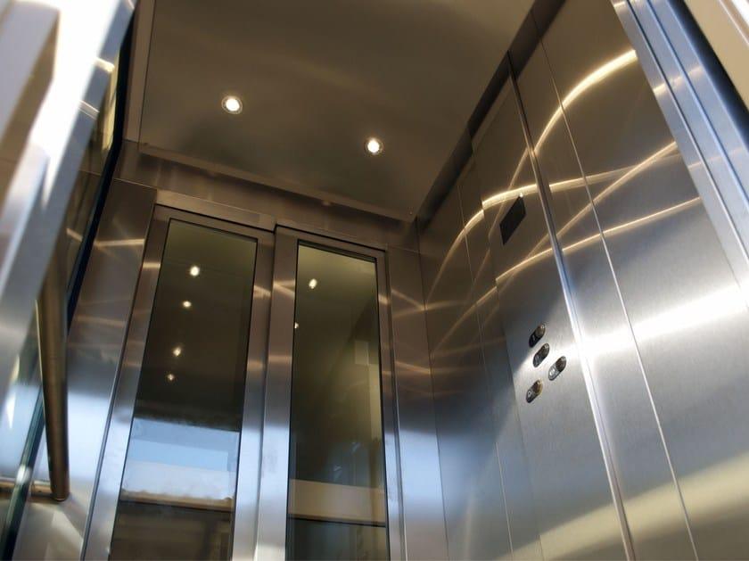 Gearless house lift HE 6 by ThyssenKrupp Encasa
