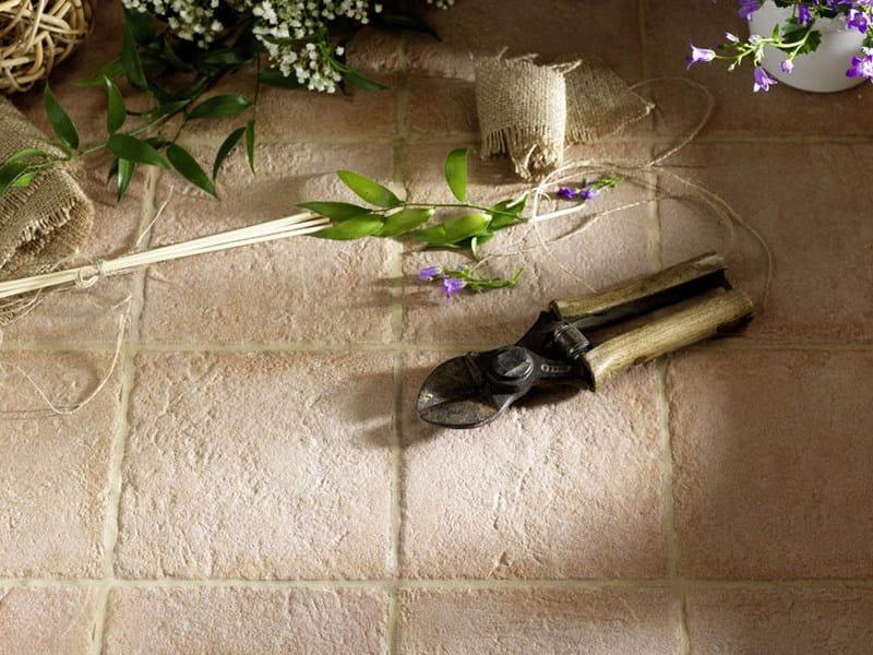 Anti-slip porcelain stoneware flooring with terracotta effect ETRURIA by MARAZZI