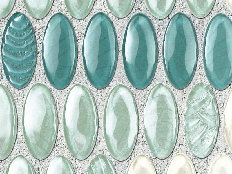 Glass mosaic OVALI by VETROVIVO