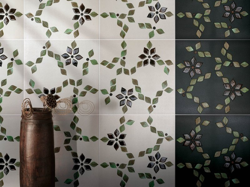 Glass mosaic RAMPICANTE by VETROVIVO