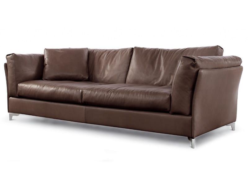 Leather sofa BAHIA   Sofa by ALIVAR