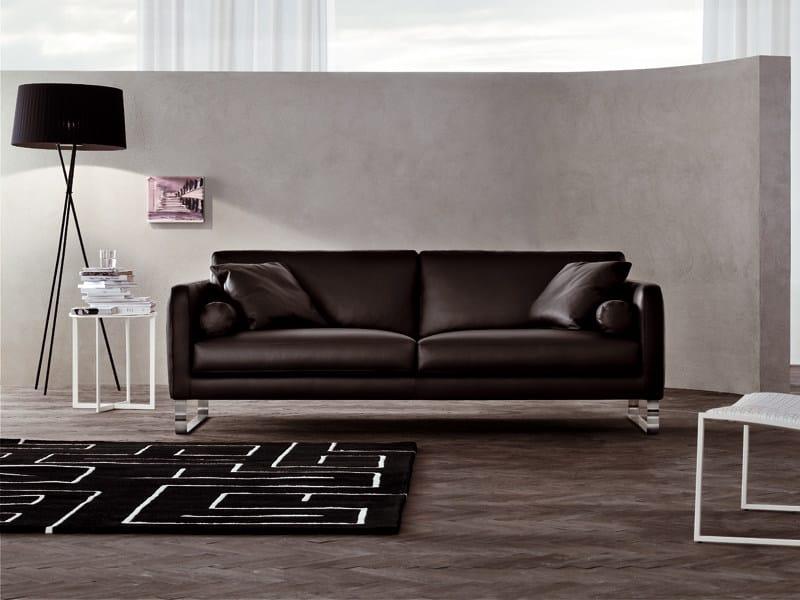 Leather sofa DOVER | Sofa by ALIVAR