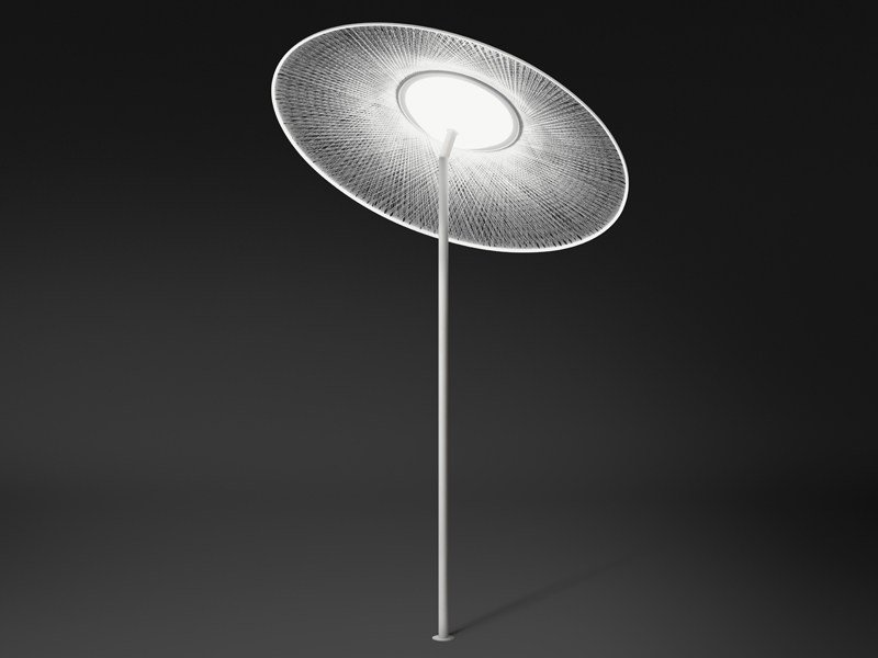 Methacrylate Low Voltage Floor lamp WIND by Vibia
