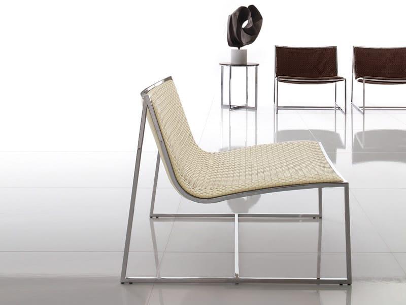 Steel armchair SAMOA by ALIVAR