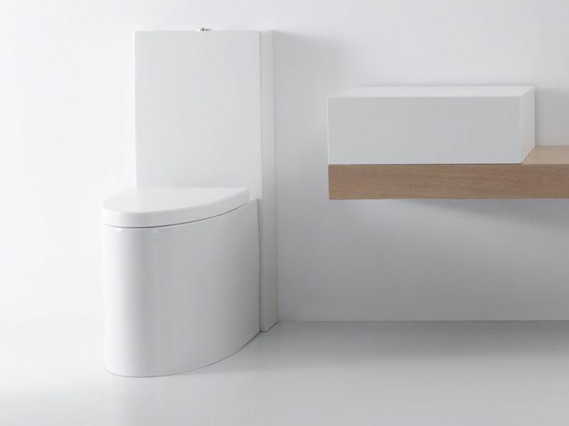 Close coupled ceramic toilet BOING   Close coupled toilet by GSG Ceramic Design