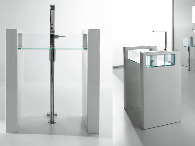 GLASS | Lavabo freestanding Colonna lavabo