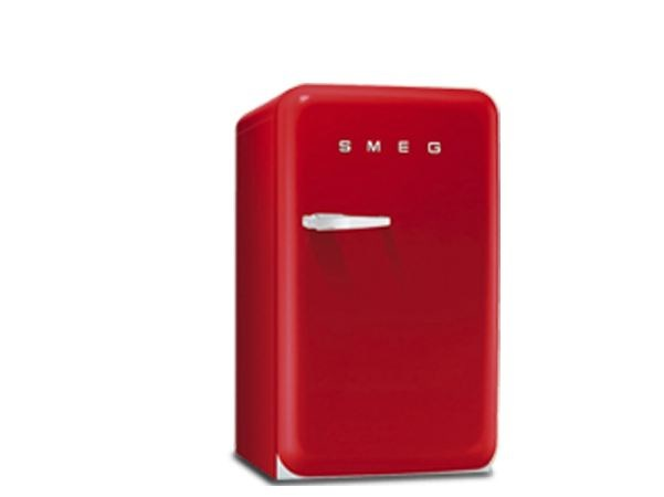 Mini fridge Class A + FAB10RR | Mini fridge by Smeg