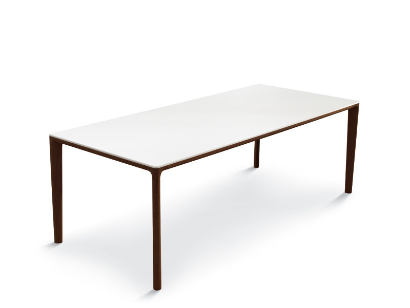 Rectangular wooden dining table BOARD | Rectangular table by ALIVAR