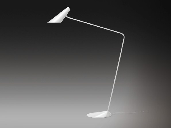 Polycarbonate floor lamp I.CONO 0715 by Vibia