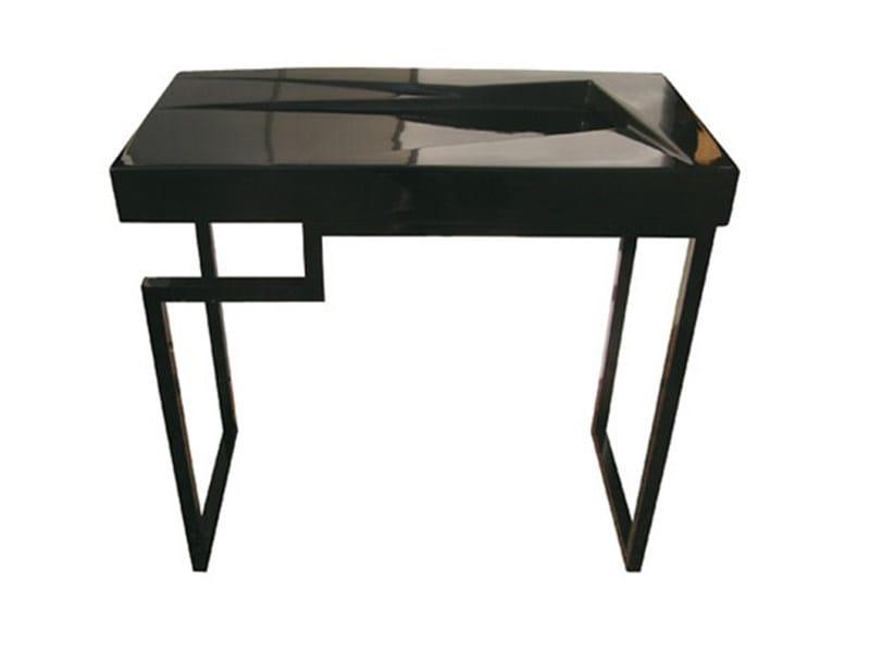 Brass console sink Brass console sink by GSG Ceramic Design