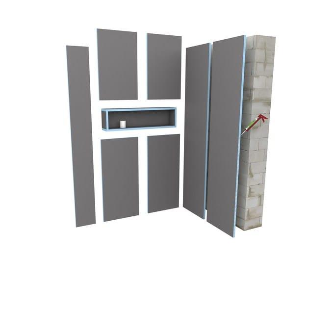 panneau sandwich wedi building board by wedi italia. Black Bedroom Furniture Sets. Home Design Ideas