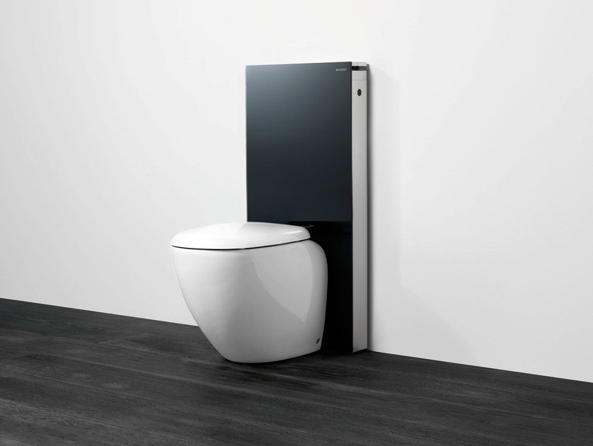 modulo sanitario in vetro temperato per wc monolith geberit italia. Black Bedroom Furniture Sets. Home Design Ideas
