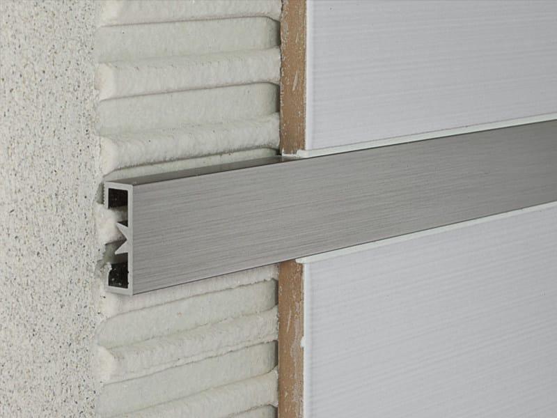 PROLIST Prolist LDAG/25 in alluminio brill. graffiato argento