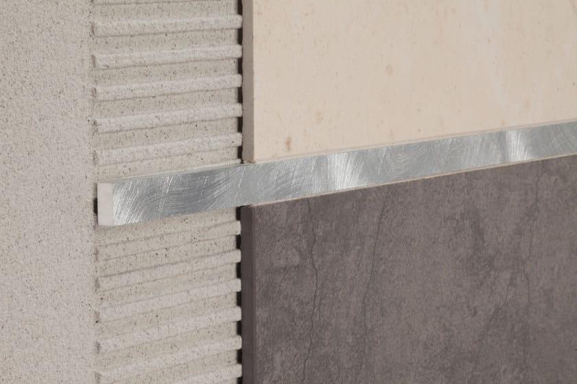 PROLIST Prolist LHAG/105 in alluminio graffiato argento
