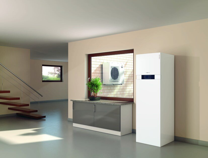 Heat pump and geothermal terminal VITOCAL 242-S by VIESSMANN