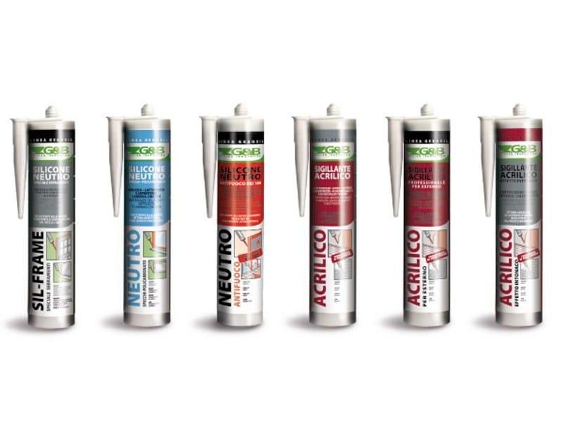 Sealants and adhesives GEBOSIL by G&B Fissaggi