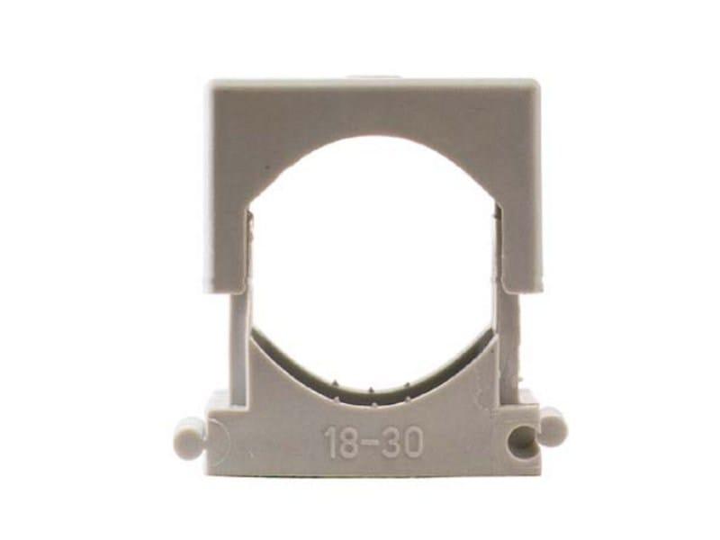 Nylon® Hose clamp FAST QUADRO by G&B Fissaggi