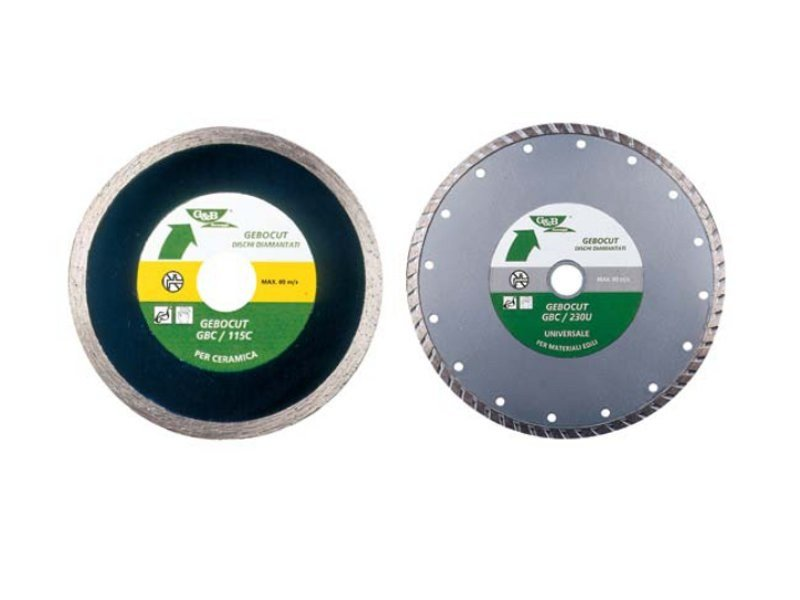 Diamond-coated Cutting Disc GEBOCUT by G&B Fissaggi