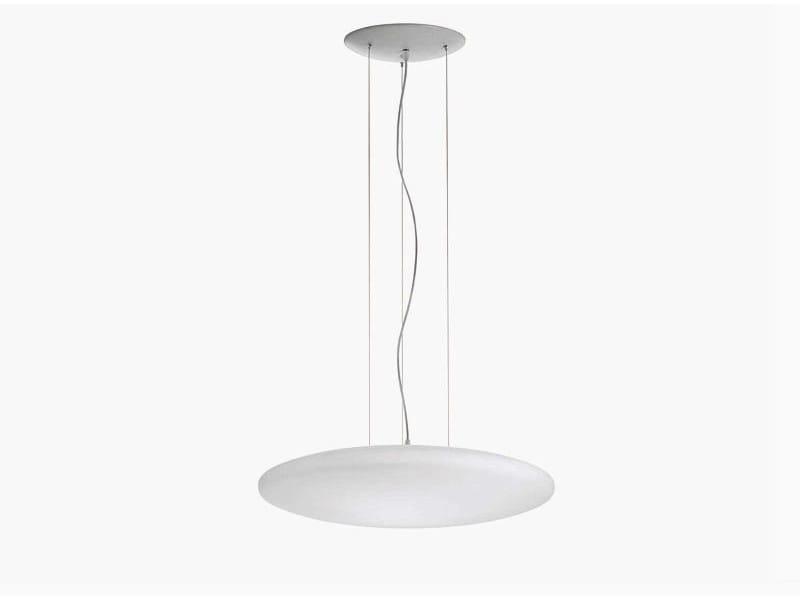 Blown glass pendant lamp SUN | Pendant lamp by ALMA LIGHT