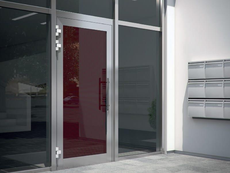 Energy-saving glass entry door Schüco ADS by Schüco