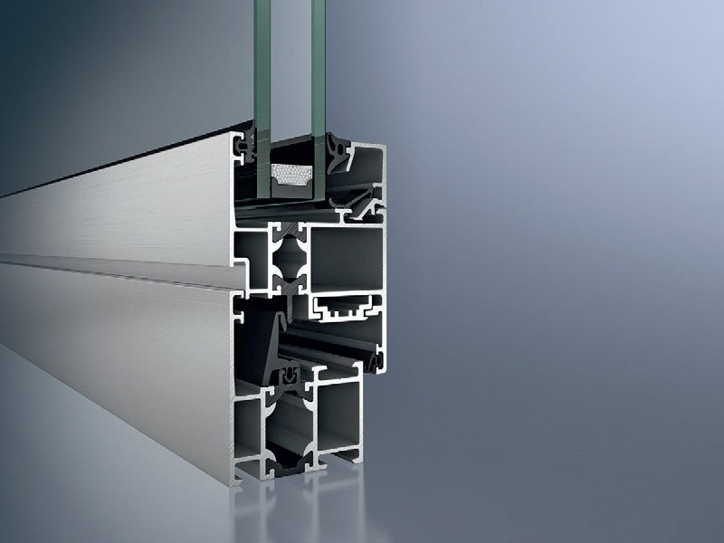 Aluminium thermal break window Schüco AWS 50 by Schüco