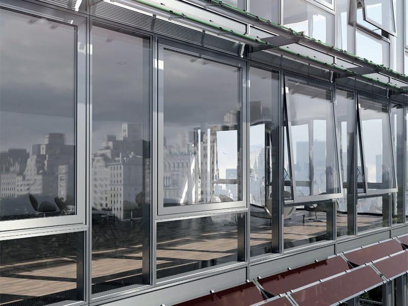 Continuous facade system Schüco USC 65 by Schüco