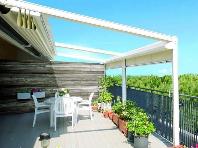 a1 pergola en aluminium by ke outdoor design. Black Bedroom Furniture Sets. Home Design Ideas