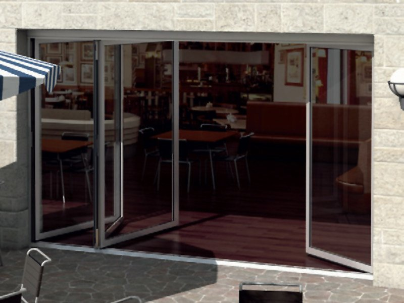 Aluminium patio door Schüco ASS 50 FD.NI by Schüco